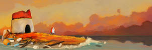 Light House by skunk257