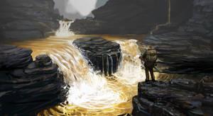 Waterfall by skunk257