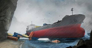 Tanker sketch by skunk257