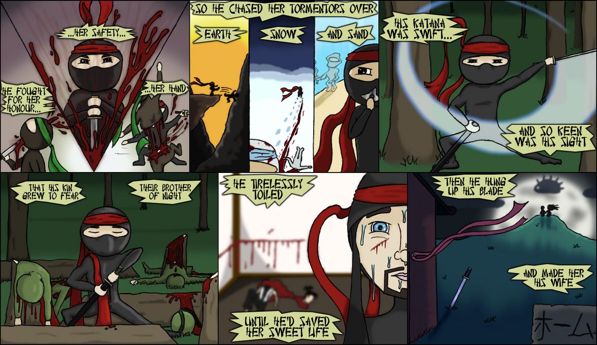 Ninja Poetry: Part III by RickVanOwen