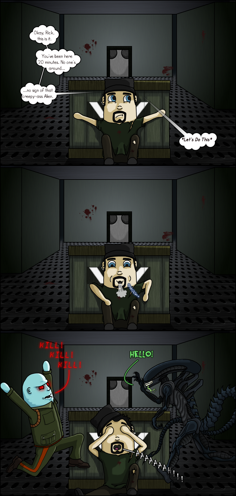 My Experience With 'Alien: Isolation' by RickVanOwen