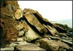 Broken Cliffside by UberDre