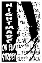 Retro Nightmare on Elm Sreet by UberDre