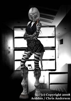 Gothic Zebra
