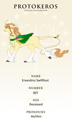 007 - Erxandros Swiftfoot