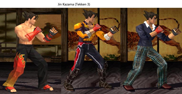 Jin Kazama Tekken3 By Shinigami Ad On Deviantart