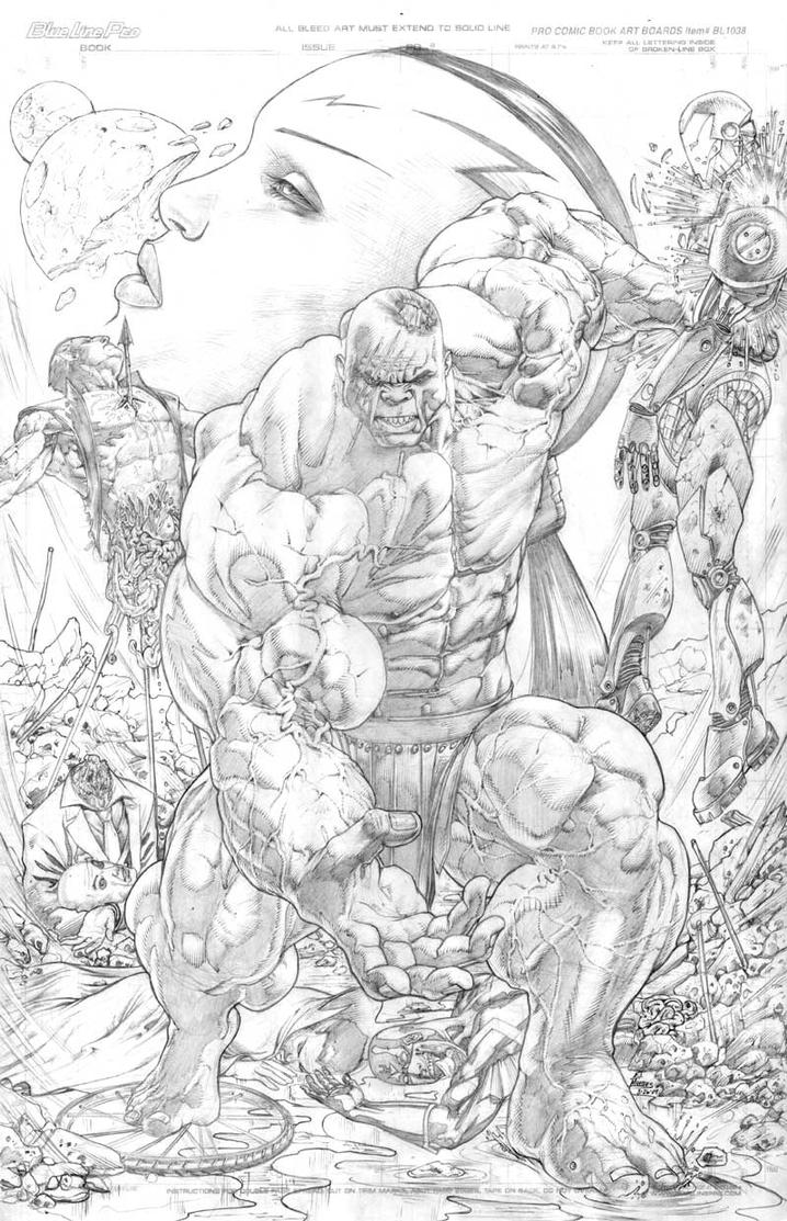 World War HULK: never happen by EJMorges