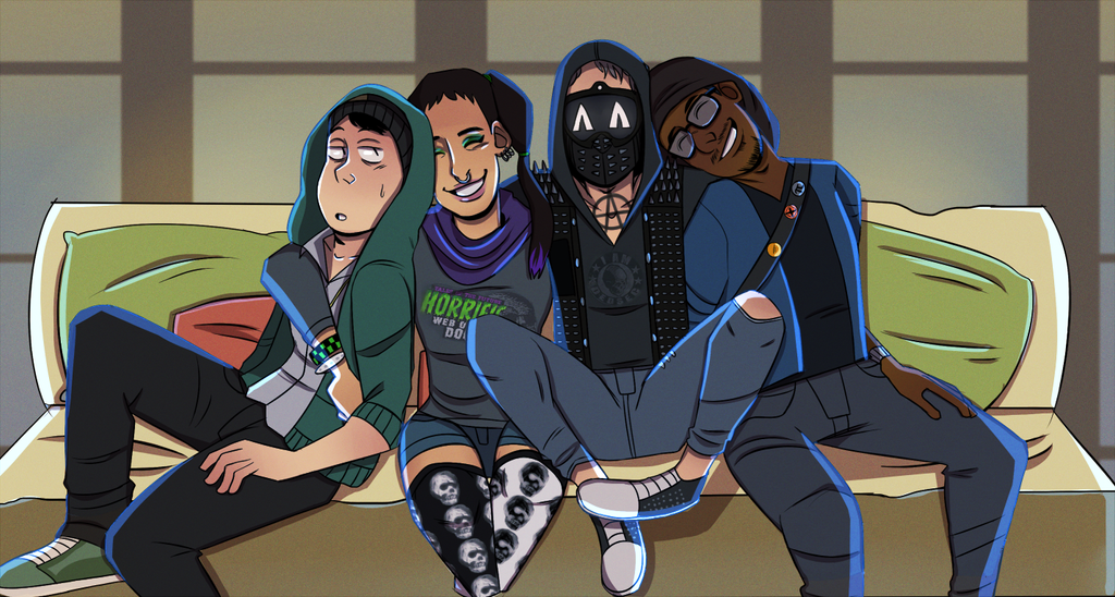Watch Dogs 2 Wrench Fanart: The_gang (dedsec) By Japes8 On DeviantArt