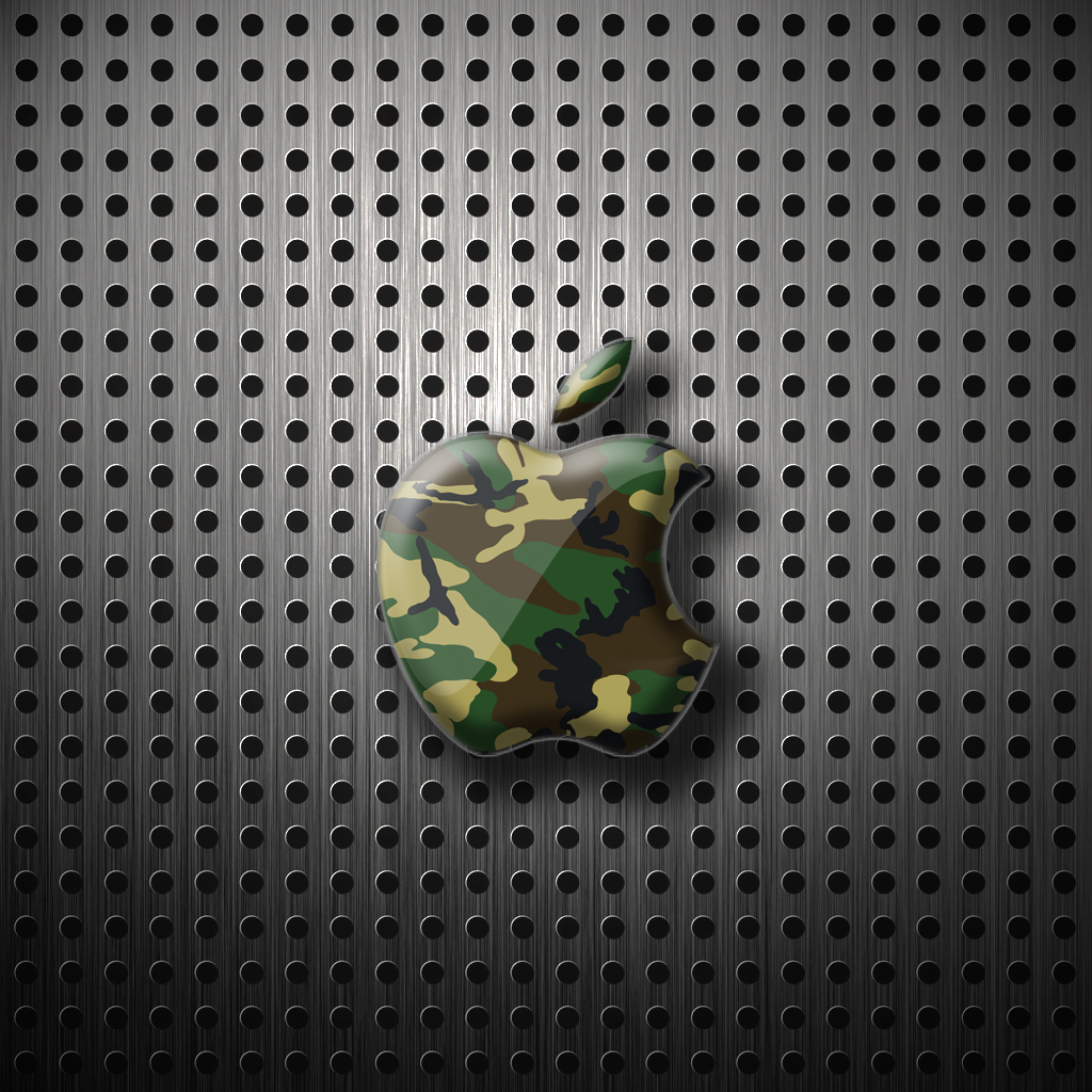 ipad wallpaper apple camo by laggydogg on deviantart