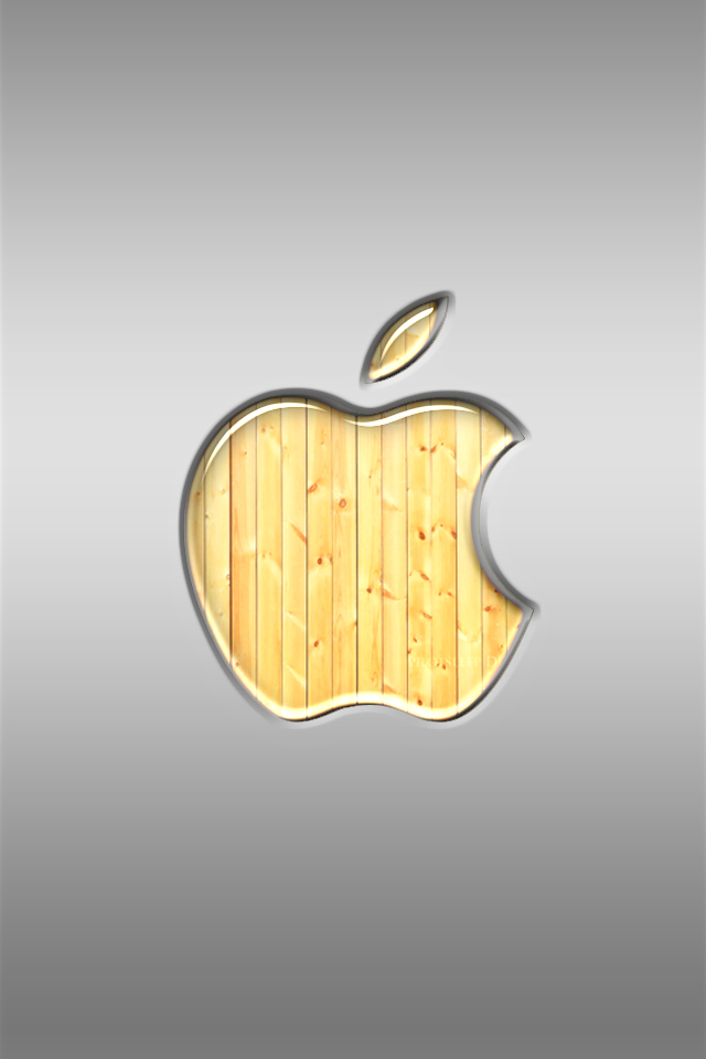 iphone Wallpaper - Wood Store by LaggyDogg