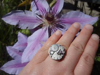 Steampunk Watch Ring