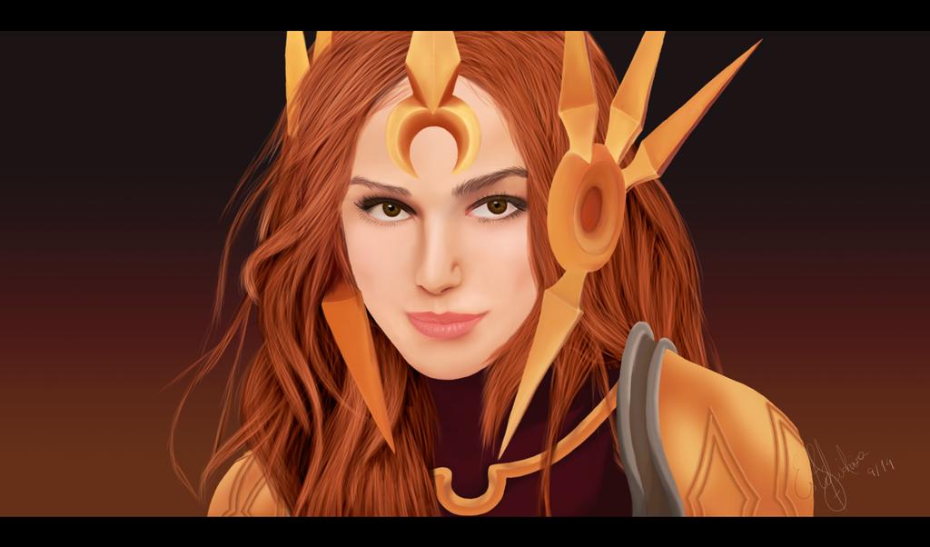 Leona, Good Day Sunshine! by ruivacomsardas