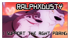 RalphXDusty stamp by Matto-Sakujo