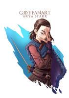 Arya Stark by CJyamaue