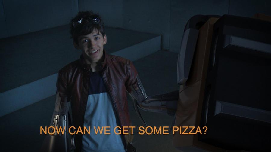 Rex wants Pizza by xXDanielPhantomXx