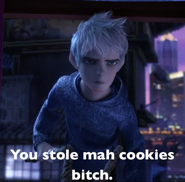 Jack's pissed about his cookies by xXDanielPhantomXx