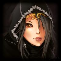 my gaia avatar looks like ashe by duranin