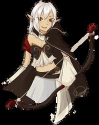 Gaia: Elf Archer by duranin
