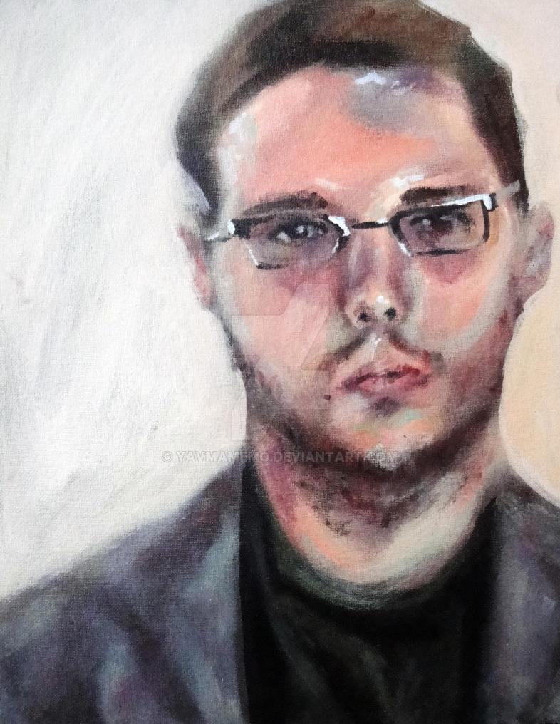 Portrait in pastels by YavMamemo