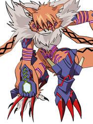Meicrackmon: Vicious Mode by Chappyzilla