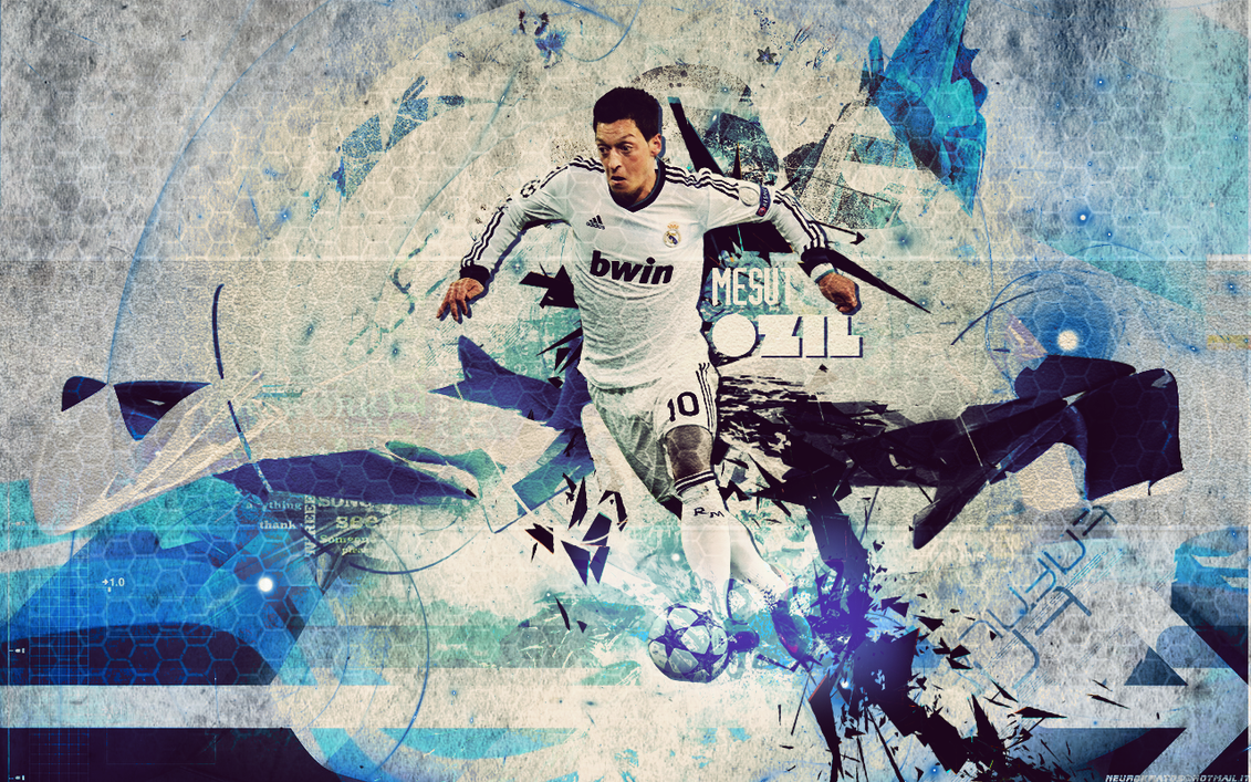 Mesut Ozil's Wallpaper By EV7 On DeviantArt