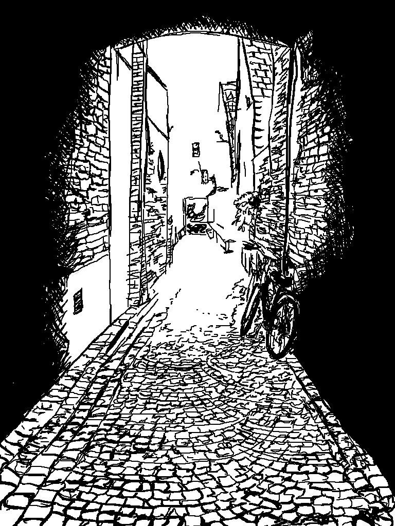 Empty street by Anecdotic