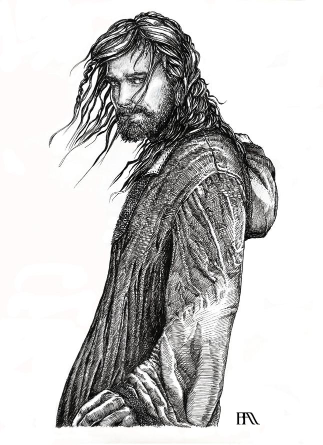 Asgard > Einar Thorson Untitled_WiP_II_Inked_by_severeene