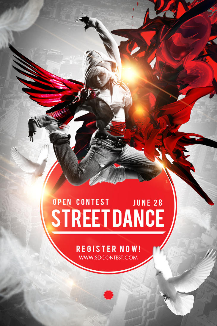 Poster design deviantart - Street Dance Competition Poster Design By Jayicesight