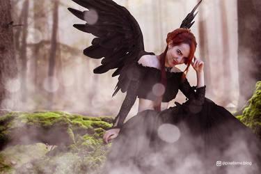 Gothic Raven Queen