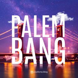Palembang Ampera Typography