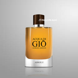 Perfume Bottle Product Mockup