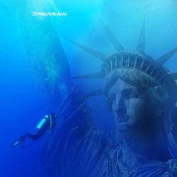 Liberty Under Water