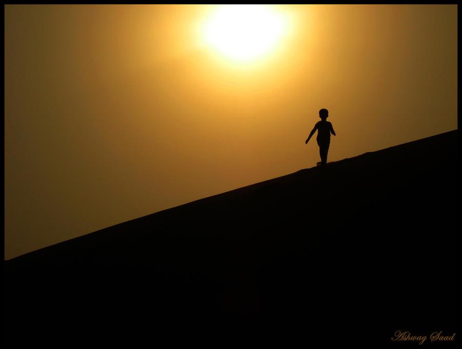 The Desert Walk by Ash-S