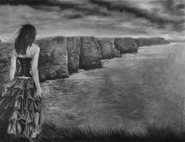 Whisper - The Cliffs of Moher by Gary Rudisill by ariess