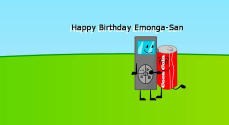 Emonga's present