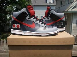 Custom Nintendo Sneakers NEStros by TH3RTYSE7N