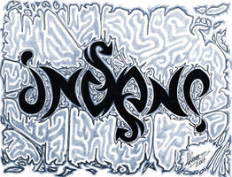 Insane Ambigram by Insanemoe