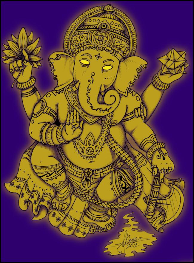 Ganesh by Insanemoe