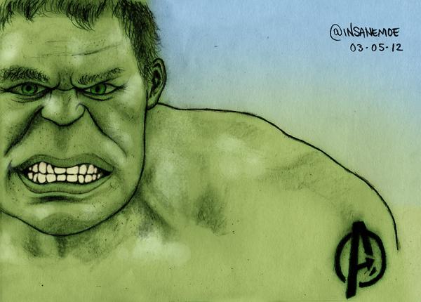 The Avengers : Hulk by Insanemoe