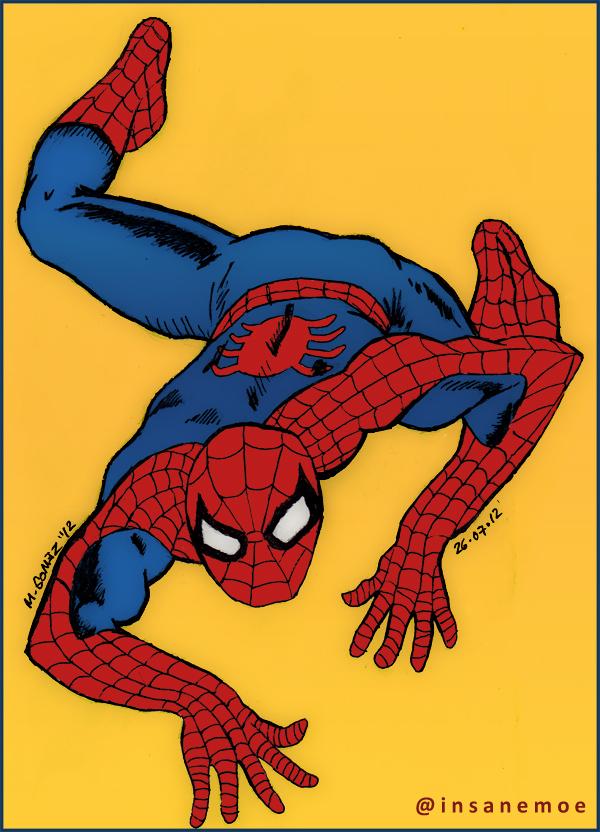 Spider-Man by Insanemoe