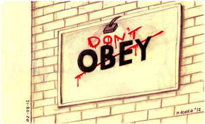Don't OBEY by Insanemoe