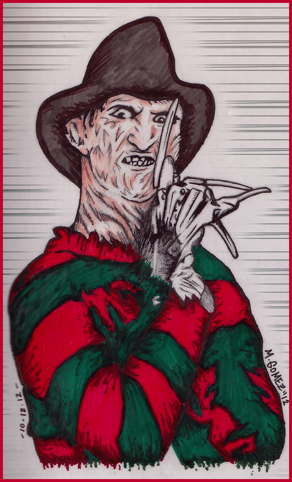 Freddy Krueger by Insanemoe
