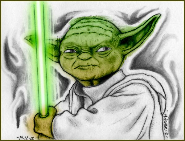 Yoda by Insanemoe