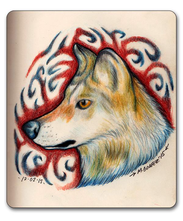 Un Loup by Insanemoe