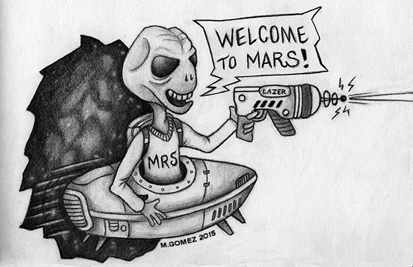 Welcome to Mars III by Insanemoe