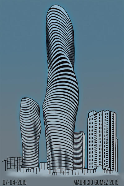 Absolut Towers by Insanemoe