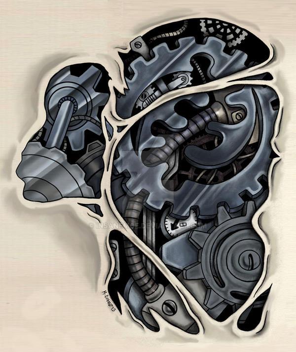 Gye Nyame Steampunk v.2-C by Insanemoe