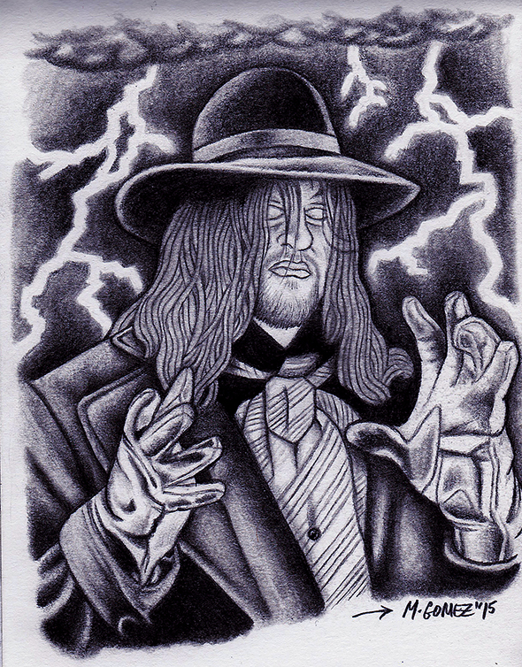 The Undertaker by Insanemoe