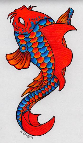 Koi Fish by Insanemoe