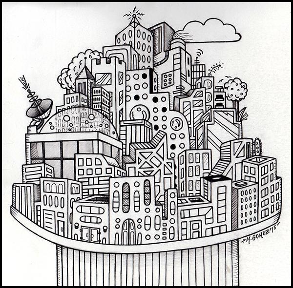 Hi-Fi City by Insanemoe